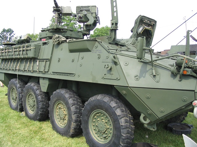 Rv M1127 Stryker