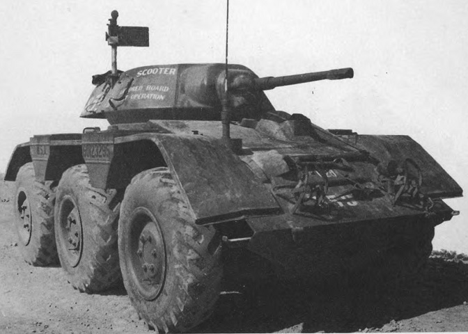 Light Armored Car M38 Wolfhound